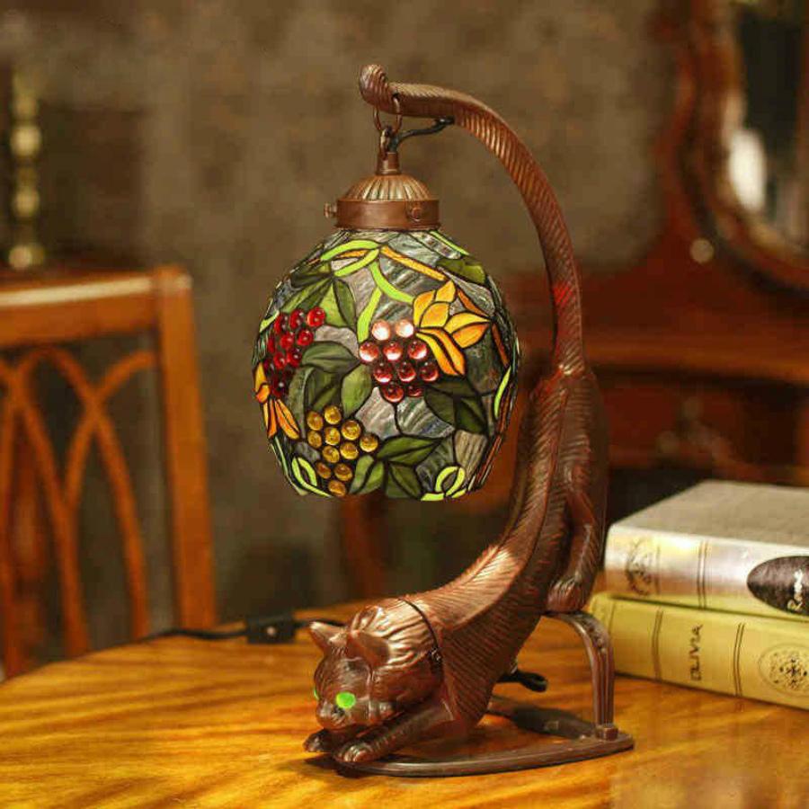 что такое лампа Тиффани