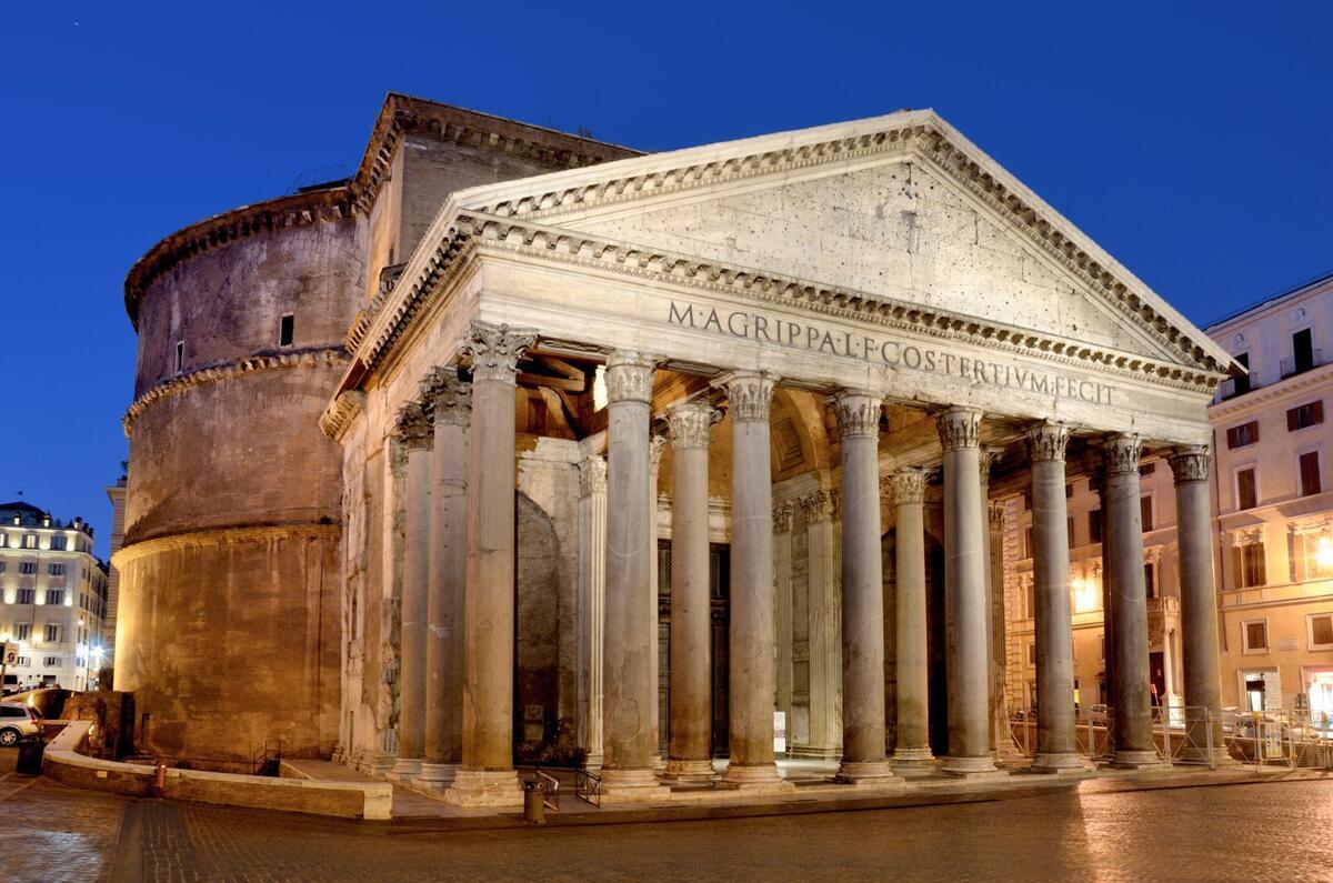 архитектура античного стиля картинки даже