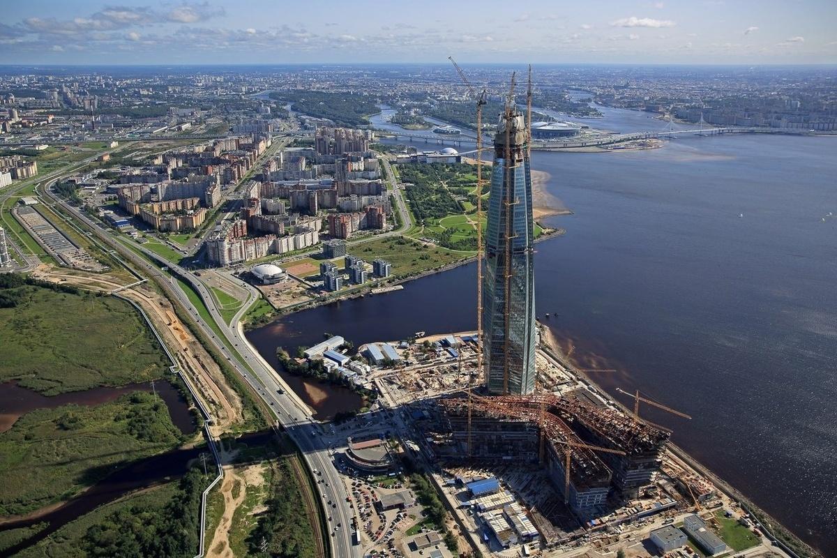подробности изданию лахта центр в санкт петербурге фото структуре