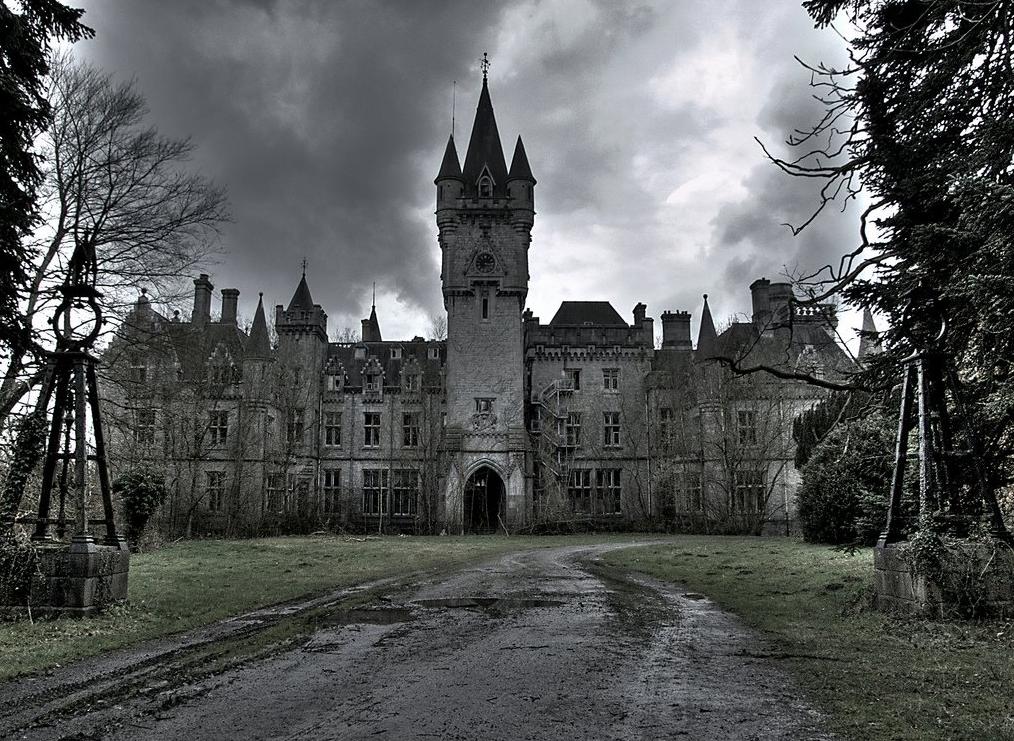 Заброшенные замки в хорошем состоянии фото